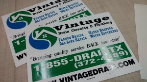 Custom Printed Corrugated Plastic Signs Fortworth